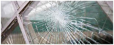 Rugeley Smashed Glass